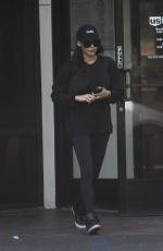NAYA RIVERA Leaves a Bank in Los Angeles 03/30/2018