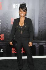 NIA LONG at Roxanne Roxanne Premiere in New York 03/19/2018