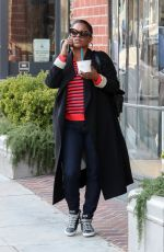 NIA LONG Out and About in Beverly Hills 03/24/2018