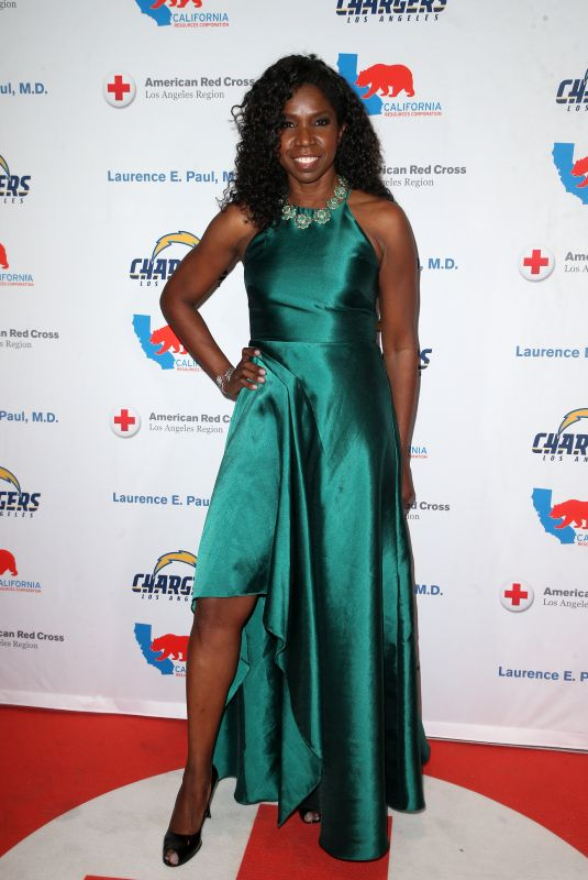 NICKI MICHEAUX at Red Cross Los Angeles 2nd Annual Humanitarian Awards 03/09/2018