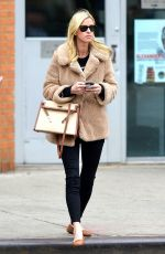 NICKY HILTON Out and About in New York 03/28/2018