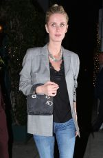 NICKY HILTON Out for Dinner at Mr Chow in Beverly Hills 03/23/2018