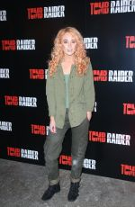 NICOLA HUGHES at Tomb Raider Themed Escape the Room in London 03/08/2018