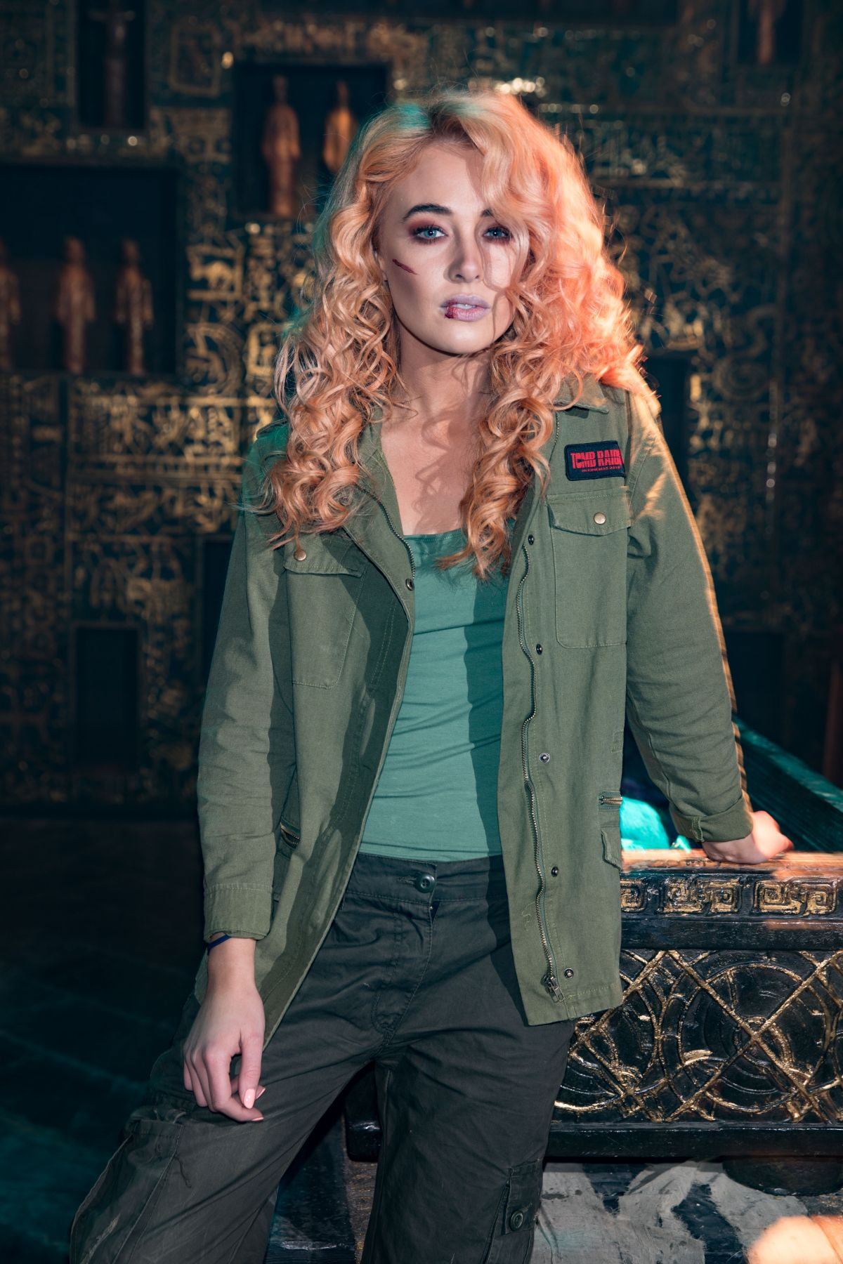 Nicola Hughes At Tomb Raider Themed Escape The Room In