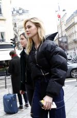 NICOLA PELTZ Out and About in Paris 03/02/2018