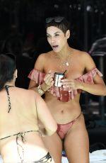 NICOLE MURPHY in Bikini at a Pool in Miami Beach 03/11/2018
