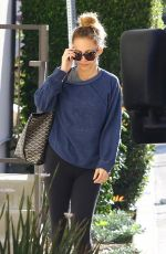 NICOLE RICHIE Heading to a Gym in Los Angeles 03/19/2018
