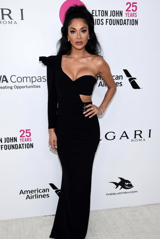 NICOLE SCHERZINGER at Eton John Aids Foundation Academy Awards Viewing Party in Los Angeles 03/04/2018