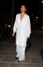 NICOLE SCHERZINGER Leaves Hermes Fashion Show in Paris 03/03/2018
