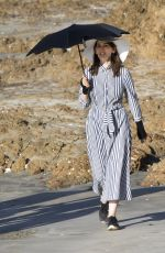 NIGELLA LAWSON Out at a Beach in Auckland 03/21/2018