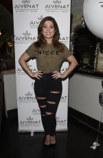 NIKKI SANDERSON at Juvanet Launch at Living Room in Manchester 02/28/2018