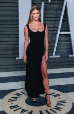 NINA AGDAL at 2018 Vanity Fair Oscar Party in Beverly Hills 03/04/2018