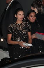 NINA DOBREV at Chateau Marmont in West Hollywood 03/04/2018