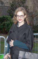 NOEMIE SCHMIDT at Rochas Fashion Show at PFW in Paris 02/28/2018