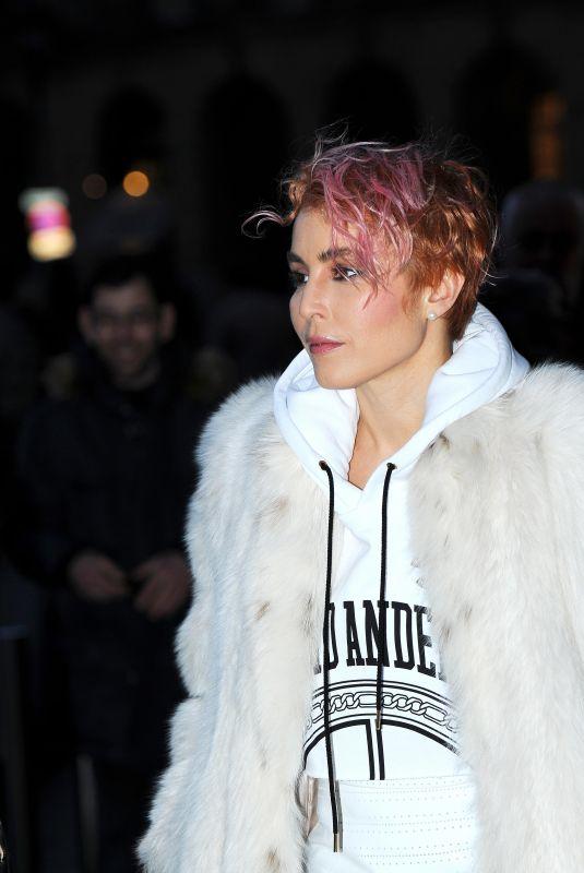NOOMI RAPACE Leaves Her Hotel in Paris 03/03/2018