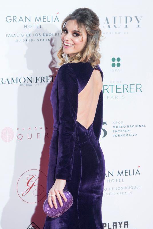 NORMA RUIZ at Global Gift Gala 2018 at Thyssen Museum in Madrid 03/22/2018