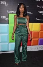 NORMANI KORDEI at Boohoo Hosts The Zendaya Edit Block Party in Los Angeles 03/21/2018