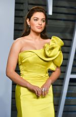 ODEYA RUSH at 2018 Vanity Fair Oscar Party in Beverly Hills 03/04/2018