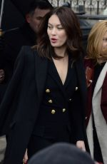 OLGA KURYLENKO at Balmain Fashion Show at Paris Fashion Week 03/02/2018