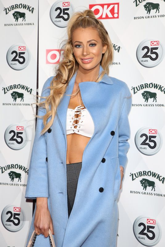 OLIVIA ATTWOOD at OK! Magazine's 25th Anniversary in London 03/21/2018