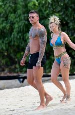OLIVIA BUCKLAND and Alex Bowen on Vacation in Barbados 03/19/2018