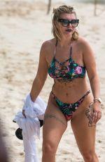 OLIVIA BUCKLAND in Bikini at a Beach in Barbados 03/13/2018
