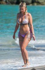 OLIVIA BUCKLAND in Bikini at a Beach in Barbados 03/14/2018