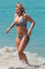 OLIVIA BUCKLAND in Bikini on Vacation in Barbados 03/17/2017