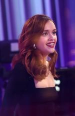 OLIVIA COOKE at The One Show in London 03/20/2018