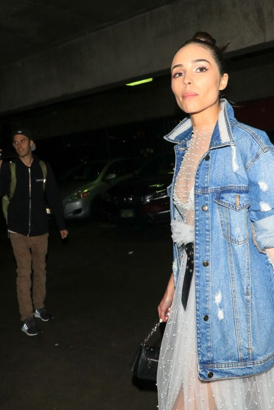 OLIVIA CULPO Arrives at Nine West 40th Anniversary Celebration in Hollywood 03/15/2018