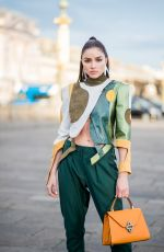 OLIVIA CULPO Out at Paris Fashion Week 03/03/2018