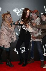 OLIVIA GRANT at The Walking Dead: The Ride Media Night at Thorpe Park in London 03/29/2018