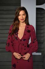 OLIVIA MUNN at 2018 Vanity Fair Oscar Party in Beverly Hills 03/04/2018