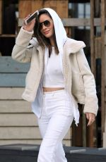 OLIVIA MUNN Out in Vancouver 03/10/2018