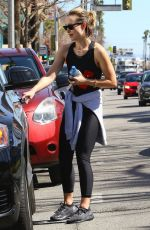 OLIVIA WILDE Heading to a Gym in Los Angeles 03/06/2018