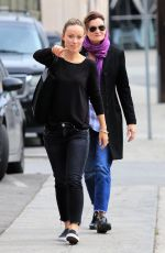 OLIVIA WILDE Out for Lunch in Los Angeles 03/07/2081
