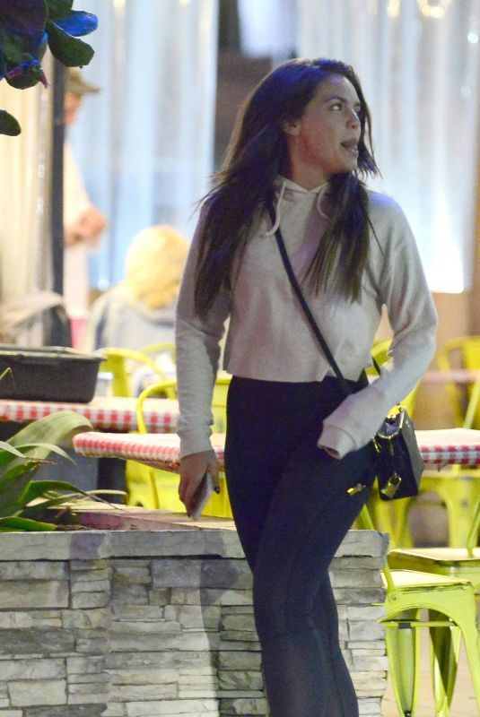 OLYMPIA VALANCE Out for Dinner in Hollywood 03/15/2018