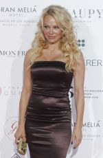 PAMELA ANDERSON at Global Gift Gala 2018 at Thyssen Museum in Madrid 03/22/2018