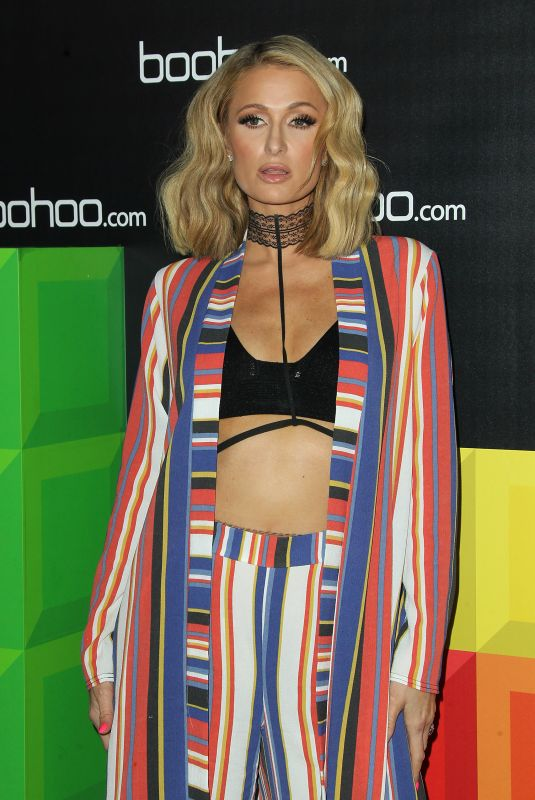 PARIS HILTON at Boohoo Hosts The Zendaya Edit Block Party in Los Angeles 03/21/2018