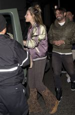 PARIS JACKSON Leaves Crossroads Restaurant in Los Angeles 03/20/2018