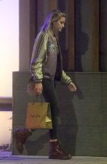 PARIS JACKSON Leaves Nobu in Malibu 03/20/2018