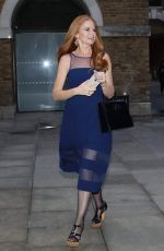 PATSY PALMER Leaves Devonshire Club Hotel in London 03/28/2018