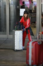 PAULA ECHEVARRIA at LAX Airport in Los Angeles 03/15/2018