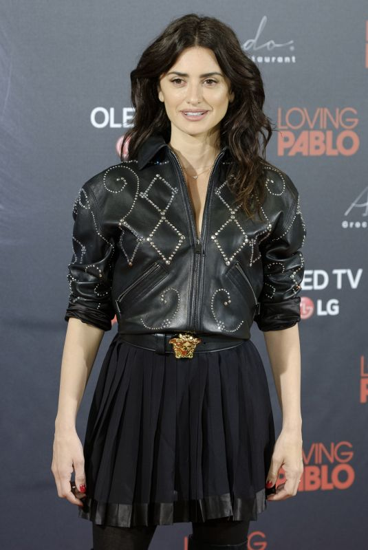 PENELOPE CRUZ at Loving Pablo Photocall in Madrid 03/06/2018