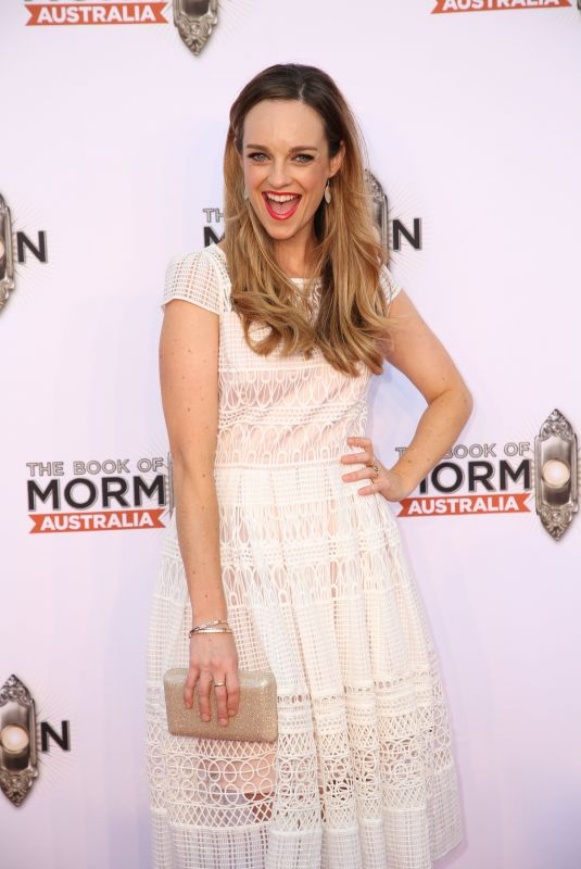 PENNY MCNAMEE at The Book of Mormon Opening Night in Sydney 03/09/2018