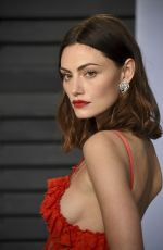 PHOEBE TONKIN at 2018 Vanity Fair Oscar Party in Beverly Hills 03/04/2018