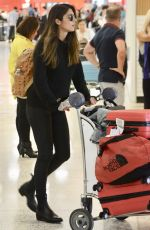PIA MILLER Arrives at Airport in Sydney 03/01/2018