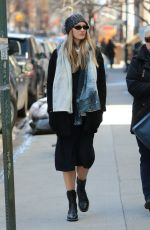 Pregnant CANDICE SWANEPOEL Out and About in New York 03/22/2018