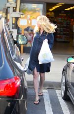 Pregnant KIRSTEN DUNST Leaves Pet Store in Los Angeles 02/28/2018