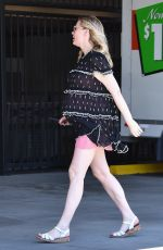 Pregnant KIRSTEN DUNST Out for Lunch in Studio City 03/28/2018